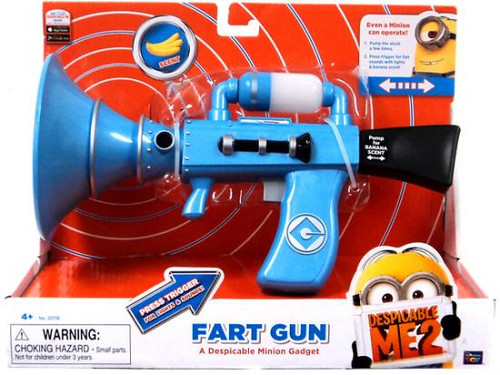 Despicable Me 2 Fart Gun Blaster Roleplay Toy [Banana Scented]