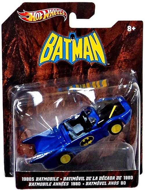 Batman Hot Wheels Batmobile Diecast Vehicle [1980's]