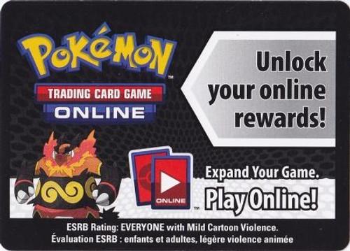 Online Code Card Promo Code Card for Pokemon TCG Online [Emboar Tin]