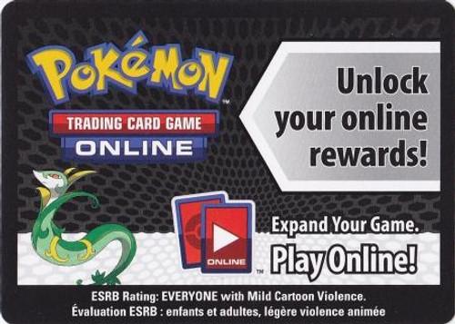 Online Code Card Promo Code Card for Pokemon TCG Online [Serperior Tin]