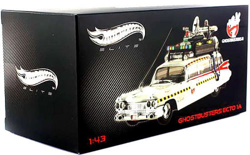 Ghostbusters 2 Hot Wheels Ecto 1A Diecast Vehicle