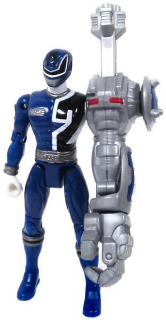 Power Rangers SPD Cyber Arm Blue Ranger Action Figure [Loose]
