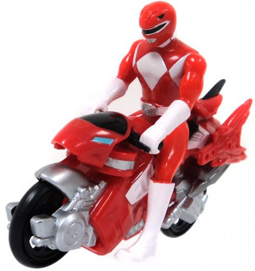 Power Rangers Mini Red Dino Cycle Action Figure [Loose]