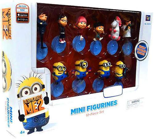 Despicable Me 2 Exclusive 2-Inch Mini Figure Set