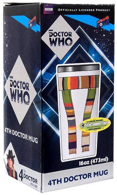 Doctor Who 4th Doctor Scarf Travel Mug