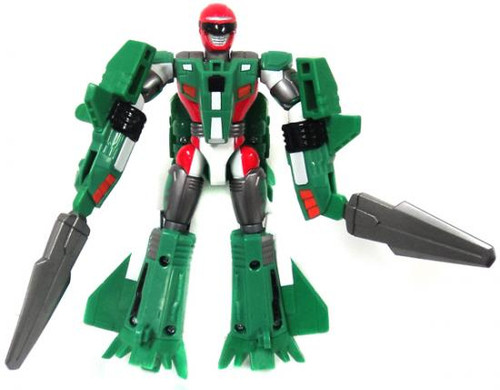 Power Rangers Operation Overdrive Mach Morphin Turbo Drill Green Ranger Action Figure [Loose]