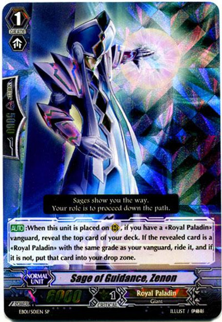 Cardfight Vanguard Comic Style Vol. 1 SP Rare Sage of Guidance, Zenon EB01-S01EN