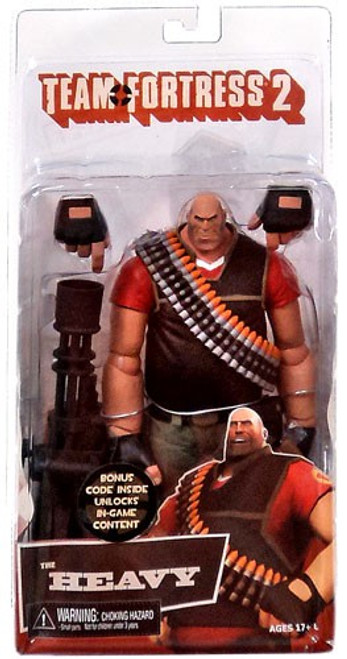 NECA Team Fortress 2 RED Series 2 The Heavy Action Figure