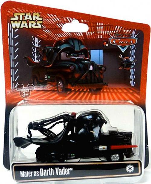 Disney Cars Star Wars Mater as Darth Vader Exclusive Diecast Car