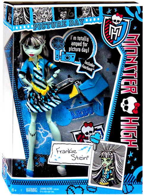 Monster High Picture Day Frankie Stein 10.5-Inch Doll