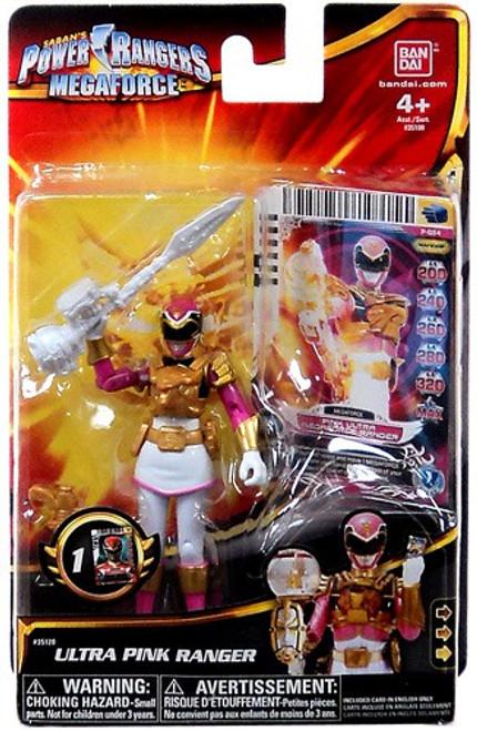 Power Rangers Megaforce Ultra Pink Ranger Action Figure