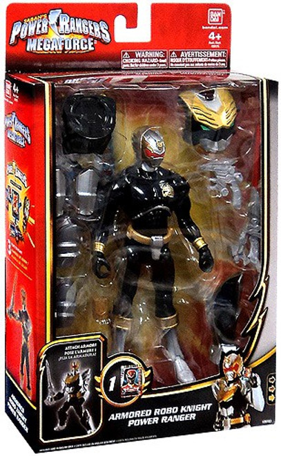 Power Rangers Megaforce Deluxe Armored Robo Knight Power Ranger Action Figure