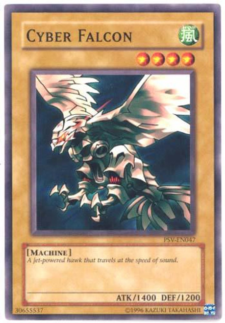 YuGiOh Pharaoh's Servant Common Cyber Falcon PSV-047