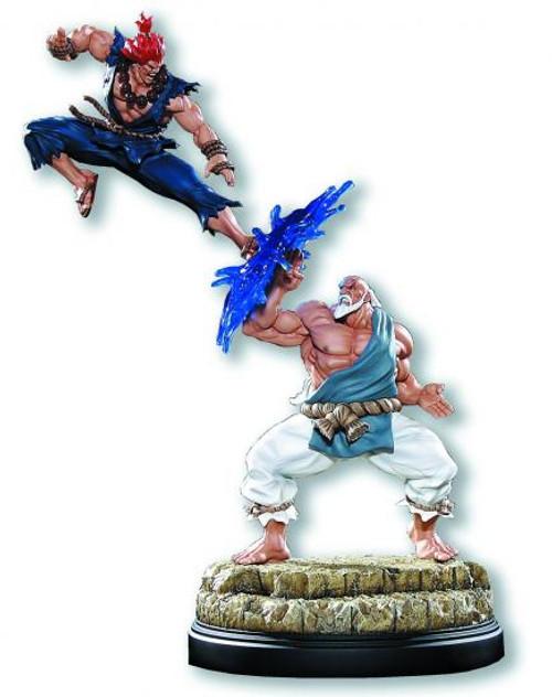 Street Fighter Gouken vs. Akuma Statue