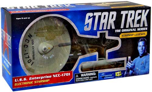 Star Trek The Original Series Starship Legends U.S.S Enterprise NCC-1701 Electronic Starship [HD Edition, Repackage]