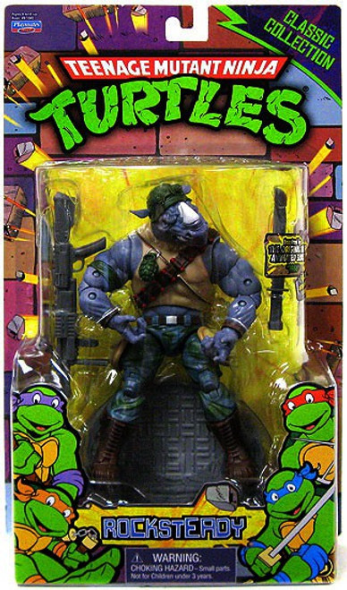 Teenage Mutant Ninja Turtles Classics Series Rocksteady Action Figure
