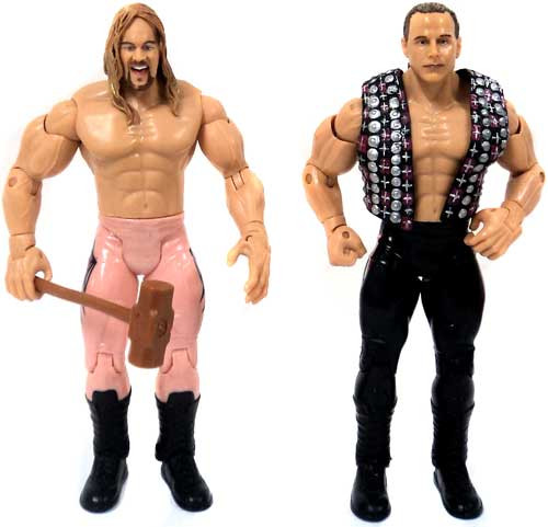 WWE Wrestling Adrenaline Series 3 Shawn Michaels & Chris Jericho Action Figure [Loose]