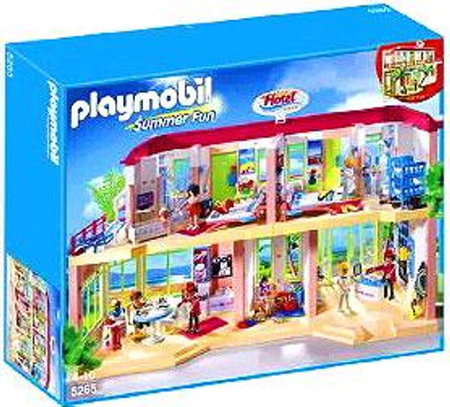 Playmobil Summer Fun Large Furnished Hotel Set #5265