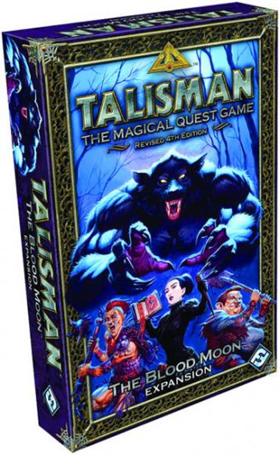 Talisman The Blood Moon Board Game Expansion