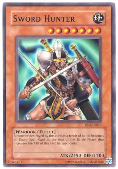 YuGiOh Pharaoh's Servant Common Sword Hunter PSV-077