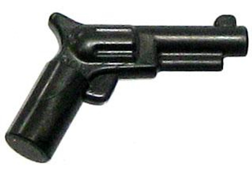 LEGO Minifigure Parts Pearl Dark Gray Colt Revolver Pistol 'Six Shooter' Loose Weapon [Loose]