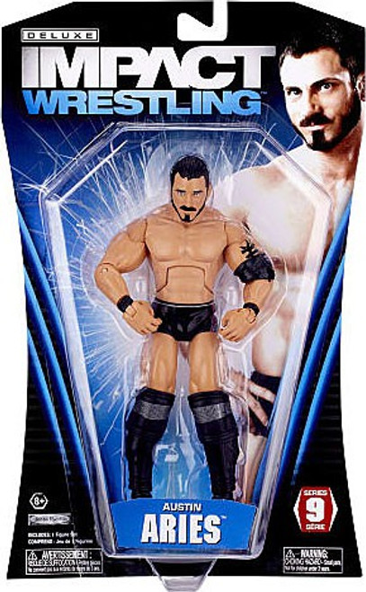 TNA Wrestling Deluxe Impact Series 9 Austin Aries Action Figure