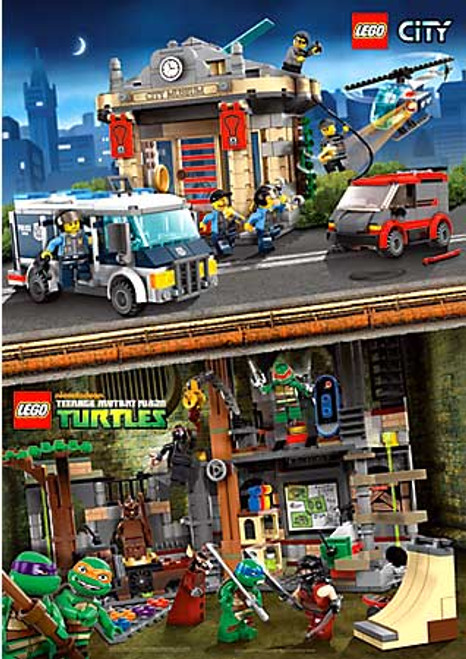 LEGO City / Teenage Mutant Ninja Turtles Poster