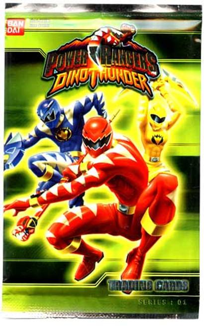 Power Rangers Dino Thunder Series 1 Trading Card Pack