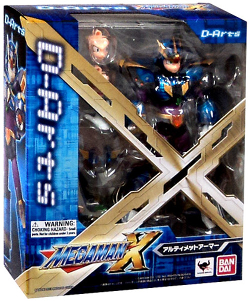Mega Man X D-Arts X Mega Man Action Figure [Ultimate Armor]