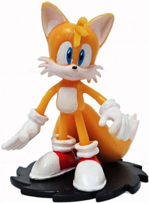 Sonic The Hedgehog Tails 2-Inch PVC Figure [Modern Loose]