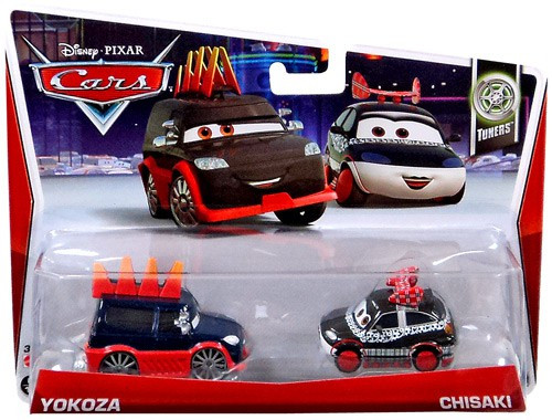 Disney Cars Series 3 Yokoza & Chisaki Diecast Car 2-Pack