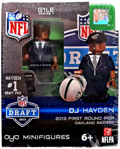 Oakland Raiders NFL 2013 Draft First Round Picks DJ Hayden Minifigure