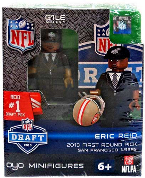San Diego Chargers NFL 2013 Draft First Round Picks Eric Reid Minifigure