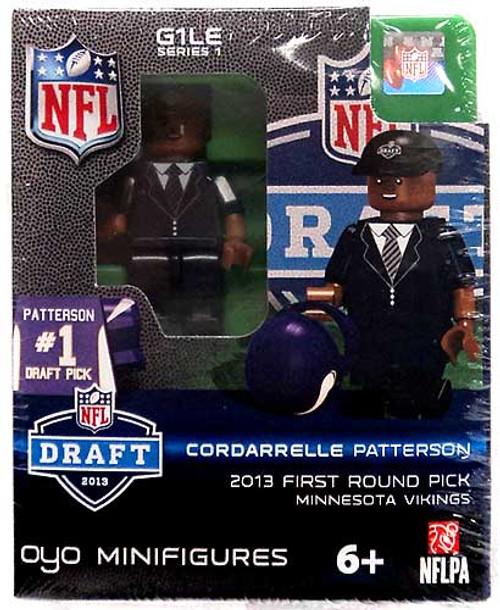 Minnesota Vikings NFL 2013 Draft First Round Picks Cordarrelle Patterson Minifigure
