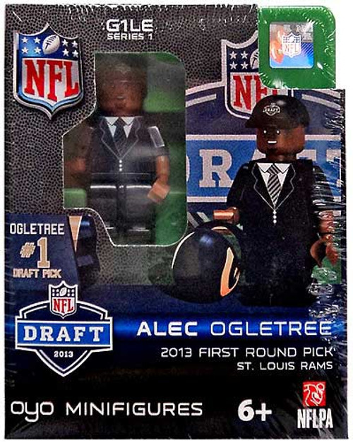 St. Louis Rams NFL 2013 Draft First Round Picks Alec Ogletree Minifigure