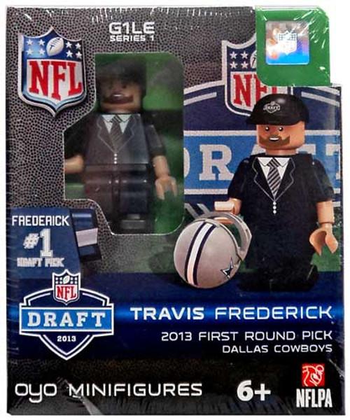 Dallas Cowboys NFL 2013 Draft First Round Picks Travis Frederick Minifigure