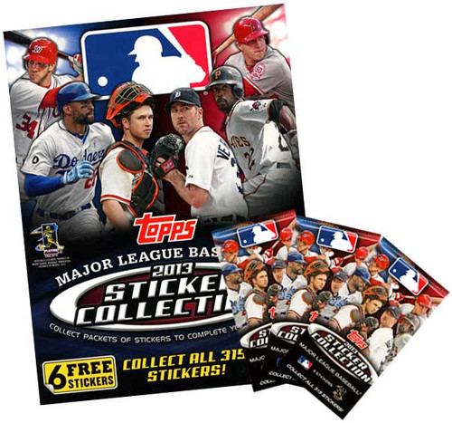 2013 MLB Sticker Collection Set