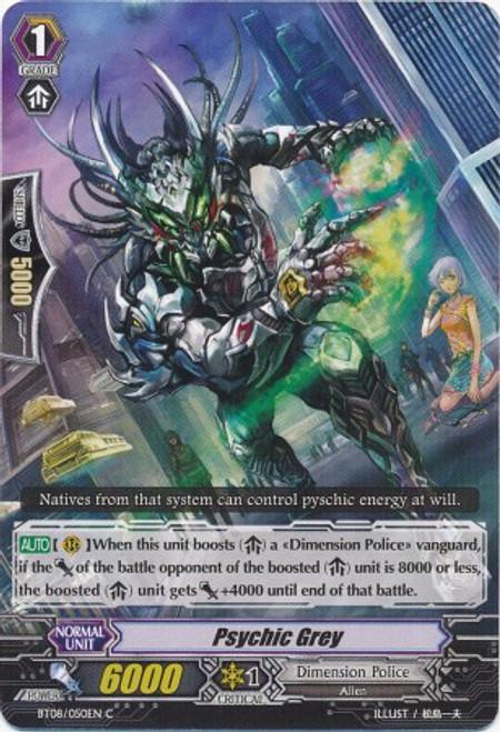 Cardfight Vanguard Blue Storm Armada Common Psychic Grey BT08-050