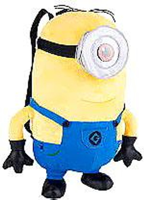 Despicable Me 2 Minion Stuart 15-Inch Plush Backpack