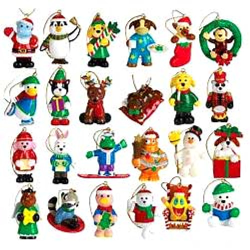 Webkinz Set of 24 Mini PVC Exclusive Ornaments