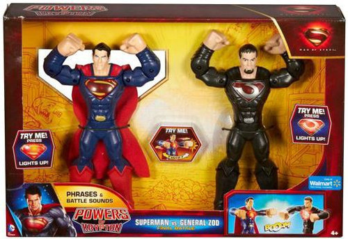 Man of Steel Powers of Krypton Superman vs. General Zod Exclusive Action Figure [Final Battle]