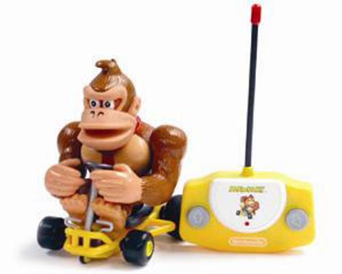 Super Mario Mario Kart Donkey Kong R/C Vehicle [Damaged Package]