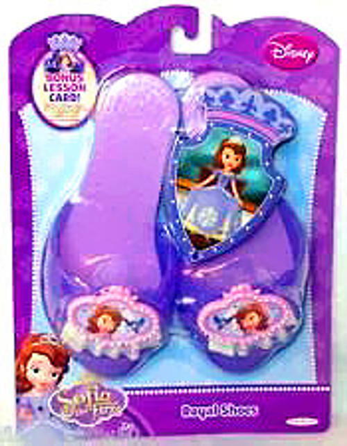 Disney Sofia the First Royal Shoes Dress Up Toy