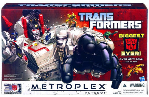 Transformers Generations 30th Anniversary Titan Metroplex Titan Action Figure