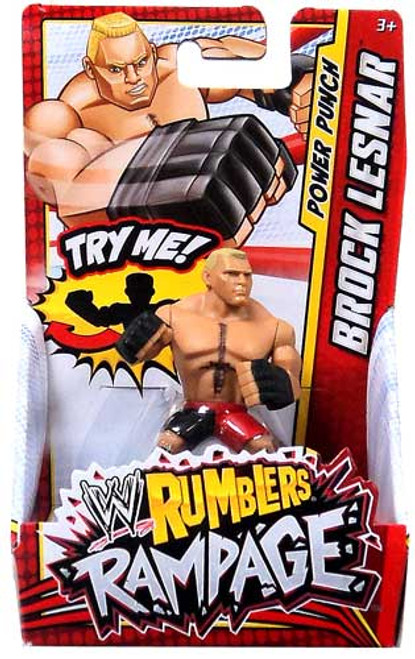 WWE Wrestling Rumblers Rampage Brock Lesnar Mini Figure