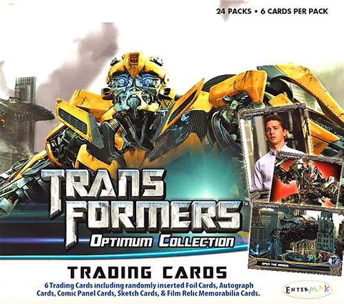 Transformers Optimum Collection Trading Card Box