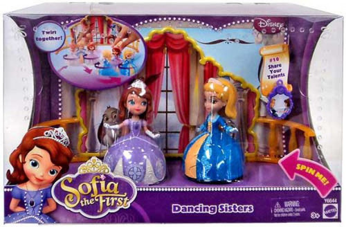 Disney Sofia the First Dancing Sisters Playset #10
