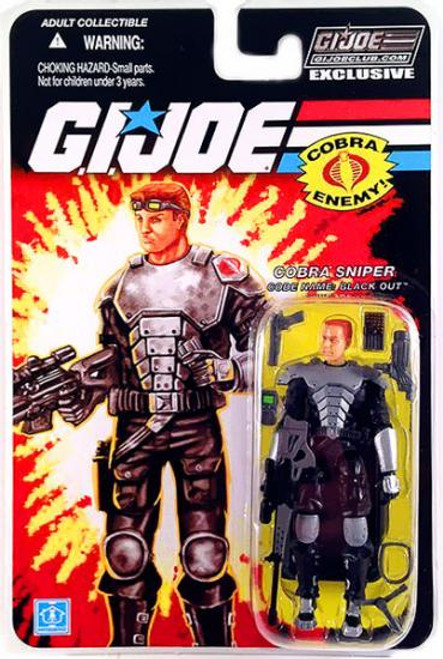GI Joe 2012 Subscription Exclusive Black Out Exclusive Action Figure