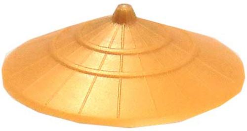 LEGO Minifigure Parts Gold Sugegasa Hat [Loose]