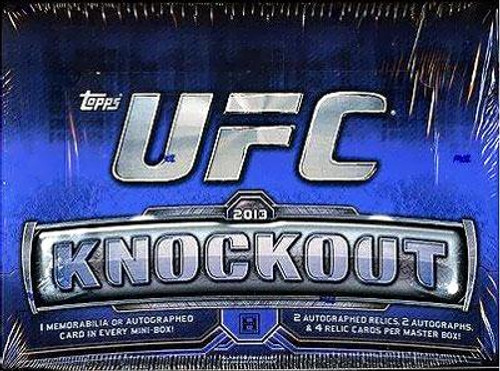 UFC 2013 Knockout Trading Card Box